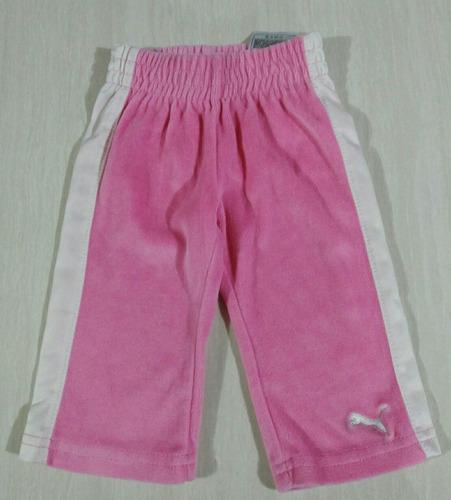 pants marca puma bebé niña talla 3-6 meses.