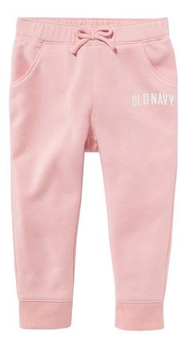 pants niña jogger bebé cintura elástica bolsillos old navy