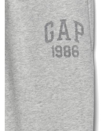 pants niño logo en polar pantalón deportivo sport 850855 gap