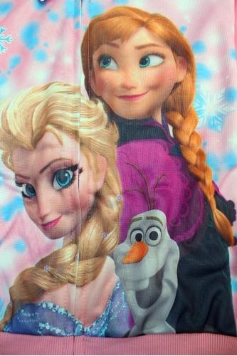 pants para niña frozen invierno talla 3 5 6 rosa elsa y anna