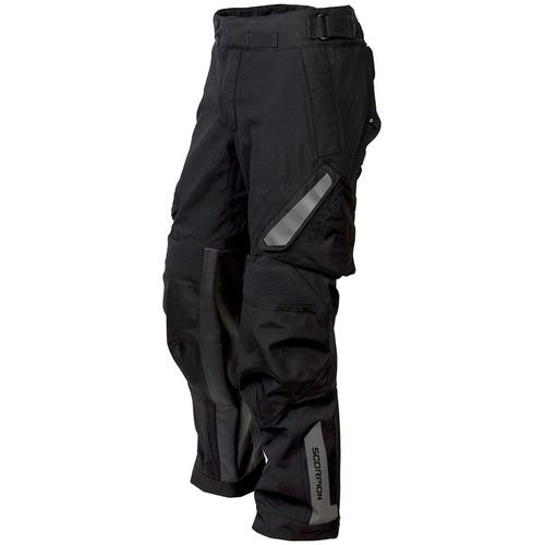 pants p/motocicleta scorpion yukon negro para hombre 2xl
