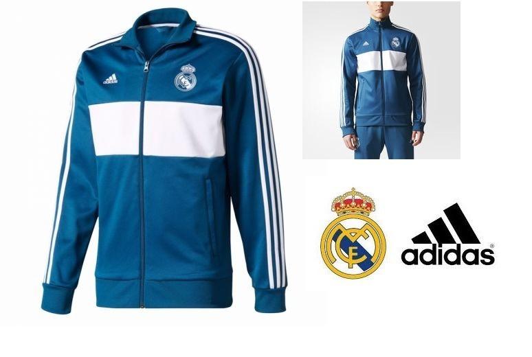 Pants Sudadera Real Madrid Champions League 2017 Azul blanco ... 21cbbb2f21a9c
