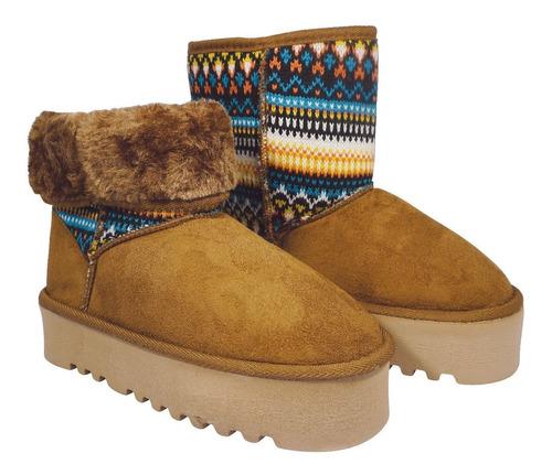 pantubota bota gummi con plataforma oferta marroqui nº 39