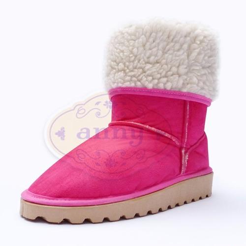 pantubotas botas australianas corderito nº25 al 41. fábrica.
