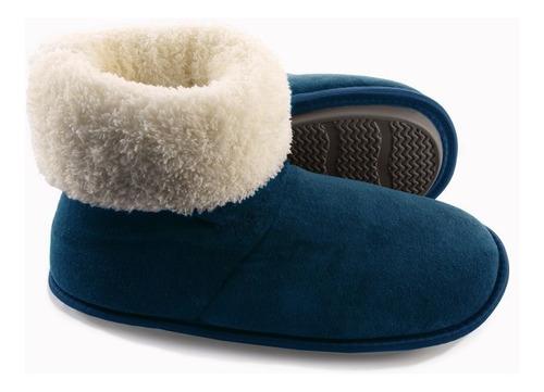 pantufa bota marinho plush e malha polar super quentinha.