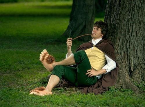4856da7a232718 Pantufa Hobbit Senhor Dos Aneis Frodo Pé Grande Frete Gratis