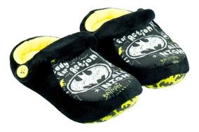 879dd0adf64b2c Pantufa Kick Batman Infantil Antiderrapante
