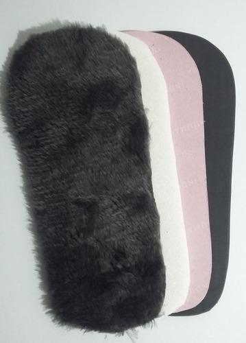 pantufa masculino fechada em pelúcia