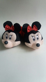 b653d3e50325a2 Pantufa Minnie Disney Infantil Adulto Oferta Promoção Barato