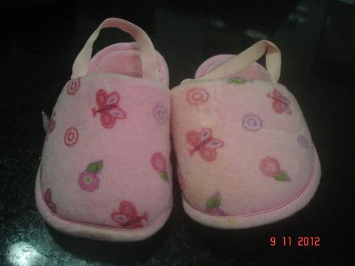 pantufa na cor rosa tamanho 21