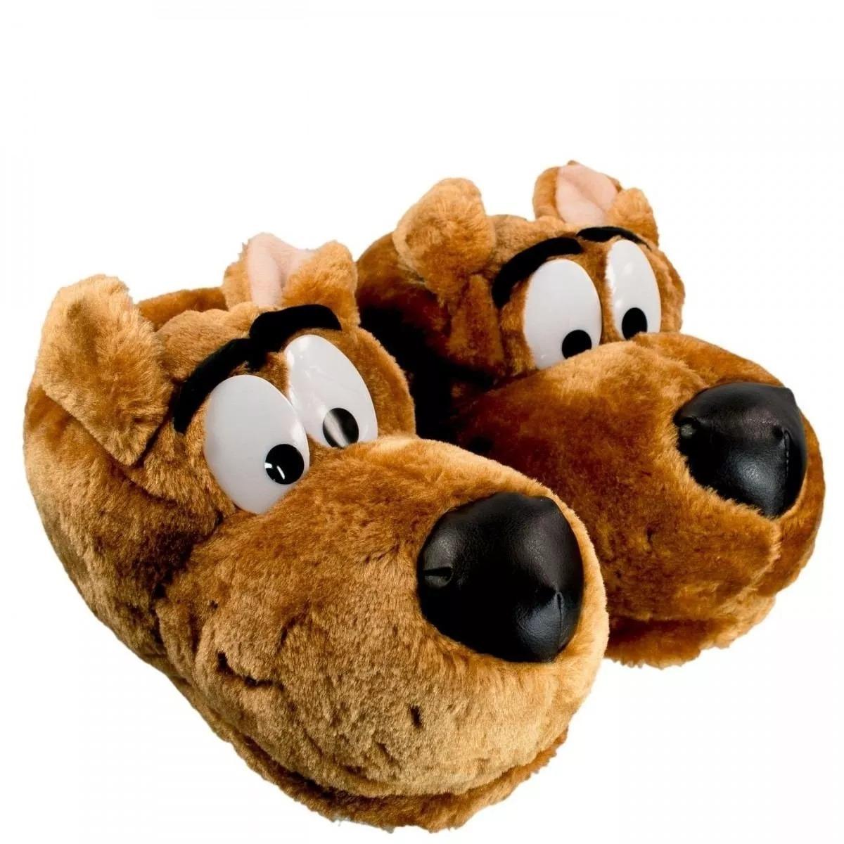 2645a54cae7b59 Pantufa Scooby Doo Ricsen 34/36 37/39 40/42 Unissex
