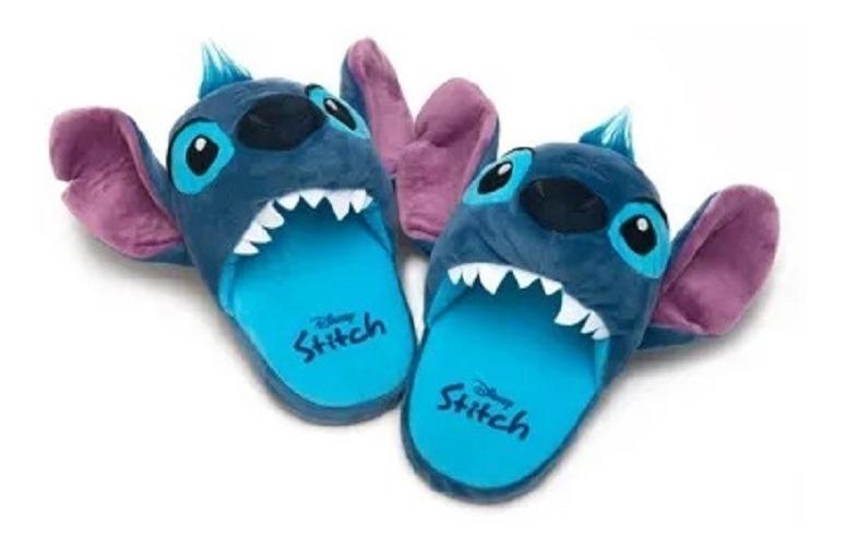 93aed80d6af119 Pantufa Stitch 3d Aberta Lançamento - Ricsen