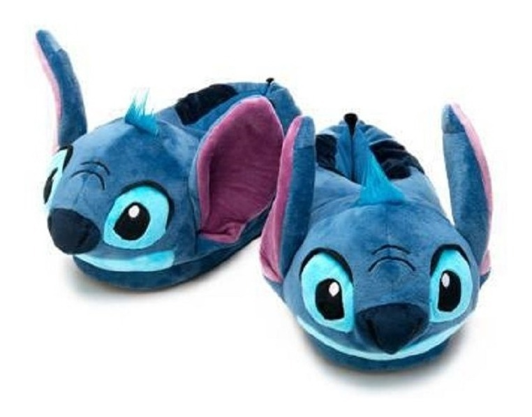 e129d837c6487a Pantufa Stitch 3d Lançamento Ricsen