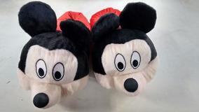 935187c6d3bfba Pantufas Divertidas Adulto/infantil Joaninha Mickey Minions