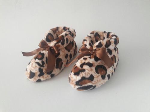 pantufla babucha botin calientes animalprint