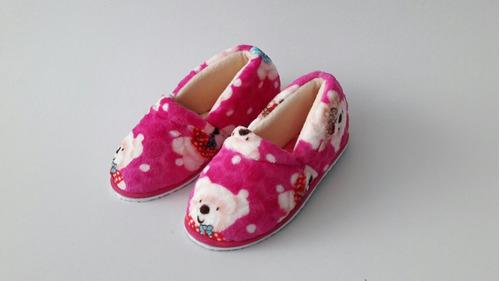 pantufla babucha zapato termico acolchado
