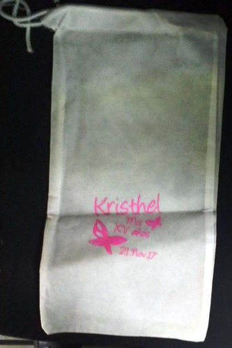pantufla personalizada boda y 15 años