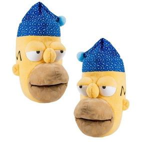 11e0c5e6f2d Pantuflas De Homero Simpson De Peluche Muy Comodas