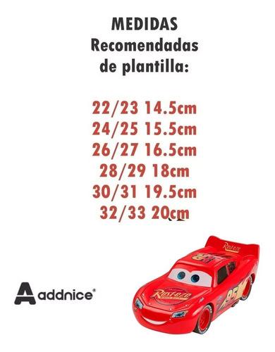 pantuflas addnice original cars matte (1004)