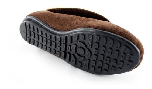pantuflas bota, sandalias de descanso.