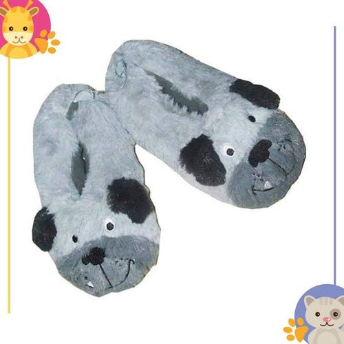 pantuflas carters, disney y star wars para niñas y niños