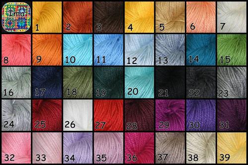 pantuflas de lana en crochet, con suela. t 35/39