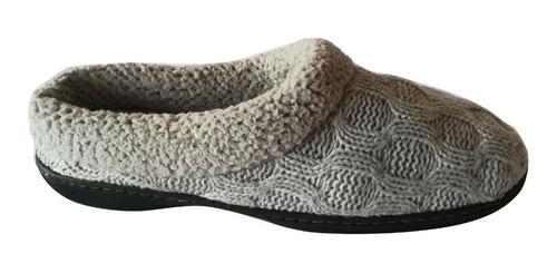pantuflas de lana marca dearfoams nro. 41 envio gratis