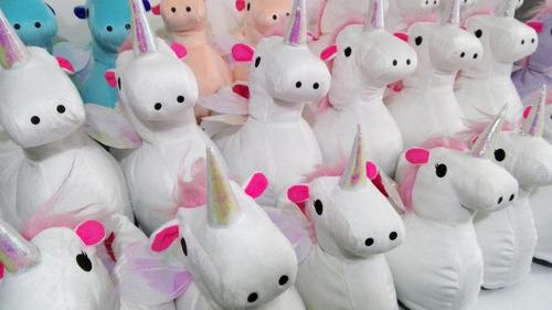 pantuflas de unicornio color blanco envio gratis!