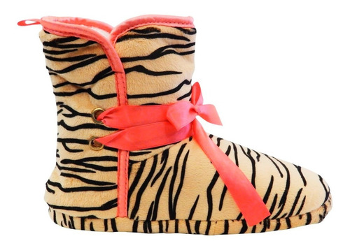 pantuflas doce04 botas para dama animal print