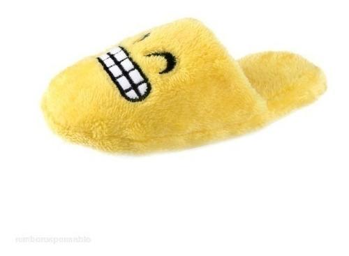 pantuflas emoji adulto,planta gruesa de goma -  impowick