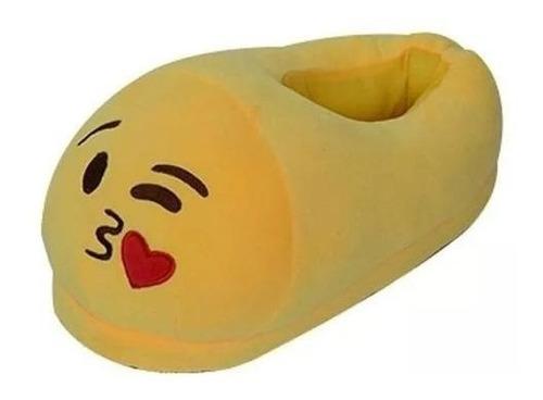 pantuflas emoji talla l ( 38 al 41). 6 diseños para escoger.