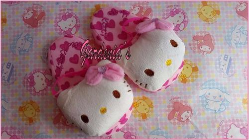 pantuflas hello kitty para niñas pequeñas