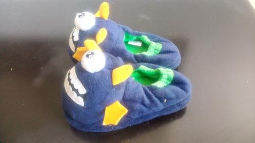 pantuflas infantiles de peluche