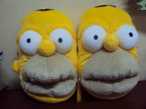 pantuflas... las mejores del mercado!!! homero simpson
