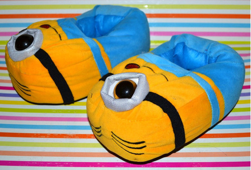 pantuflas minions 2016 talles 24-32 little treasure