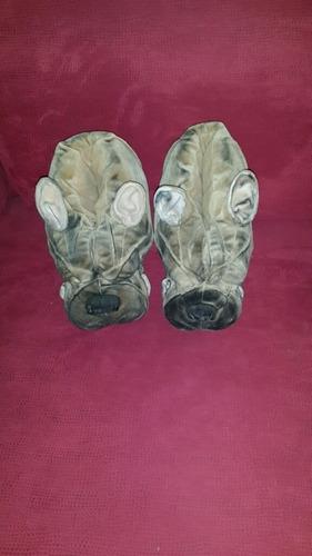 pantuflas o zapatillas con cara de perro boxer