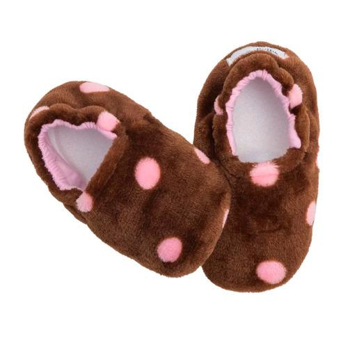 pantuflas para bebe bota super calientitas chocolate