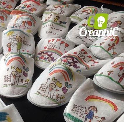 pantuflas personalizadas, recuerdos, cumpleaños, pantuflas