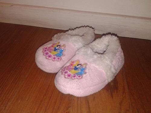 pantuflas princesas disney importadas usa!