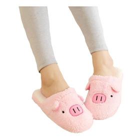Pantuflas Puerquito Kawaii Zapatos Mujer Niños Cerdito Cute