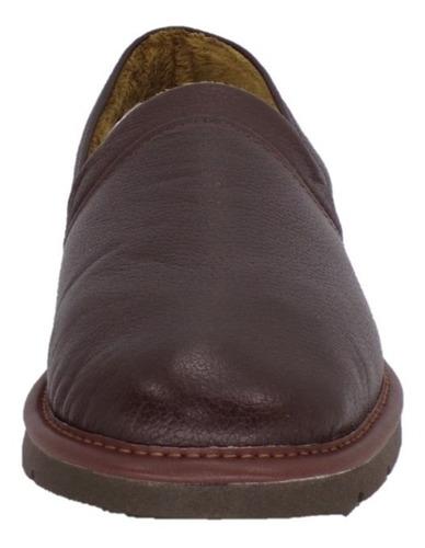 pantuflas stahl originales, hombre, piel genuina, e-9573