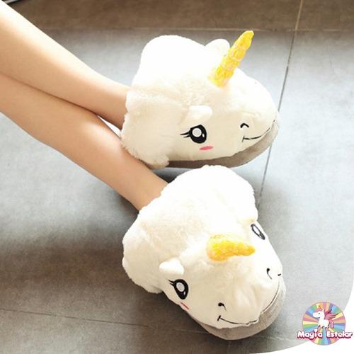 pantuflas unicornio pack (2 unid)
