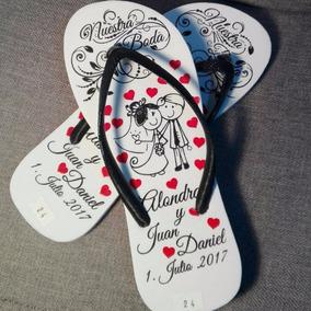 Pantuflas Sandalias Y Baut Personalizadas Para Fiestas Bodas rCBxoeWd