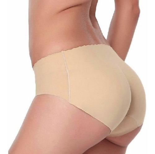 panty levantacola con relleno push up aumenta gluteos