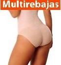 panty levantacola relleno + 2 cm con faja alta ****