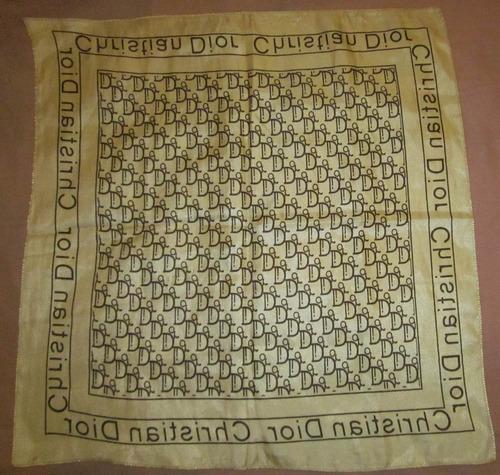 pañuelo christian dior tipo seda