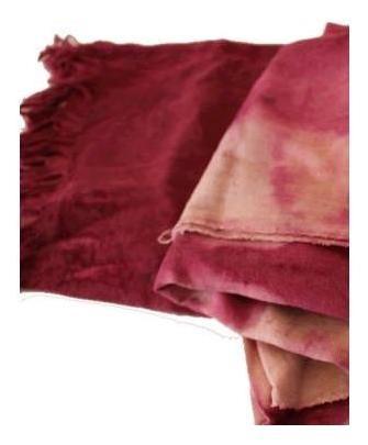 pañuelo con tinte natural «mik exclusiva» diseño creativos