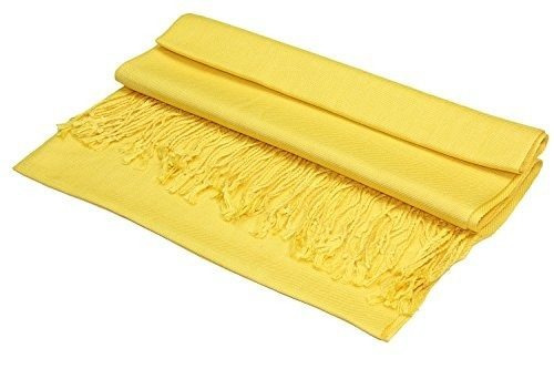 pañuelo de chal pashmina sedosa grande achillea en colores s
