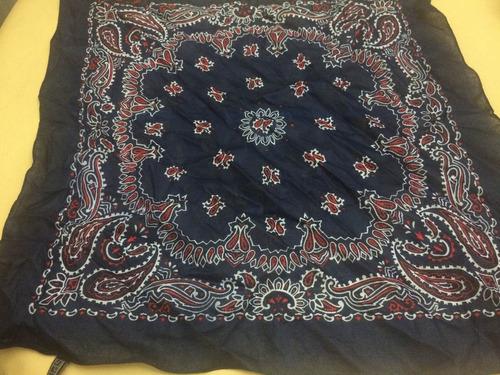 pañuelo de cuello en algodón