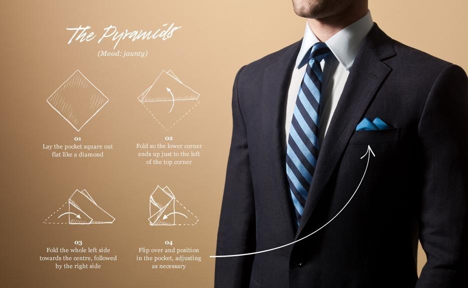 precios de liquidación diseño novedoso bien baratas Pañuelo De Seda Para Traje 1 Unidad